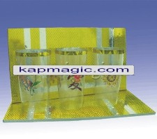 APPEARING 6 GLASS (CUPS) FROM PLATES  <img border=&quot;0&quot; src=&quot;http://kapmagic.com/products_pictures/FREEshippingw5w.gif&quot; width=&quot;175&quot; height=&quot;50&quot;></p>