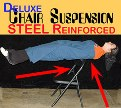 CHAIR SUSPENSION, DELUXE � STEEL  <img border=&quot;0&quot; src=&quot;http://kapmagic.com/products_pictures/FREEshippingw6w.gif&quot; width=&quot;175&quot; height=&quot;50&quot;></p>