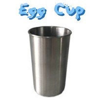 Egg Cup (Stainless Steel)  <img border=&quot;0&quot; src=&quot;http://kapmagic.com/products_pictures/FREEshippingw5w.gif&quot; width=&quot;175&quot; height=&quot;50&quot;></p>