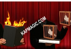 Fire Book and Dove Cage <img border=&quot;0&quot; src=&quot;http://kapmagic.com/products_pictures/FREEshippingw6w.gif&quot; width=&quot;175&quot; height=&quot;50&quot;></p>